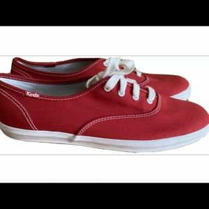 Keds original champion red canvas oxford sneaker